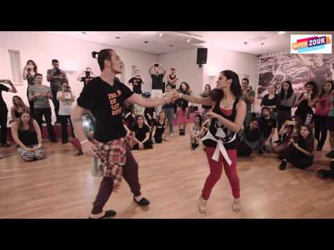 Bruno + Nathalia - Dutch International Zouk Congress 2015 - Demo