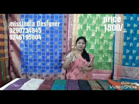 Episode  618 kalamkari  blouse models  missindia  9290734845,9246195804