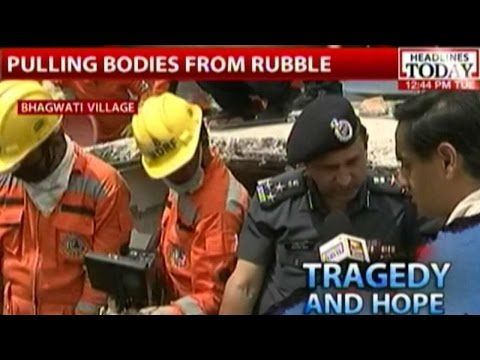 Nepal Earthquake: Interview With NDRF DIG On Complexity Of Rescue Operation