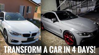 Transform a Car in 4 Days - SKVNK LIFESTYLE EPISODE 34