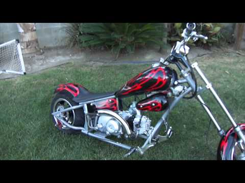 110cc mini chopper how to save money and do it yourself. Black Bedroom Furniture Sets. Home Design Ideas