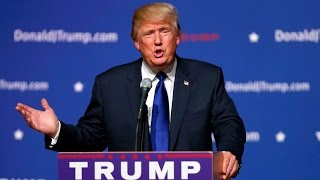 Donald Trump holds rally in Alabama