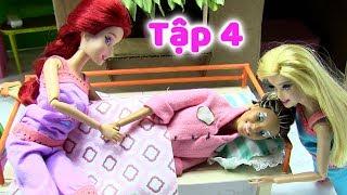 CÔ BÉ HIẾU THẢO _Tập 4 _ Mẹ Bệnh Thật Rồi Chị Hai Ơi! (Phim giáo dục thiếu nhi) búp bê Barbie