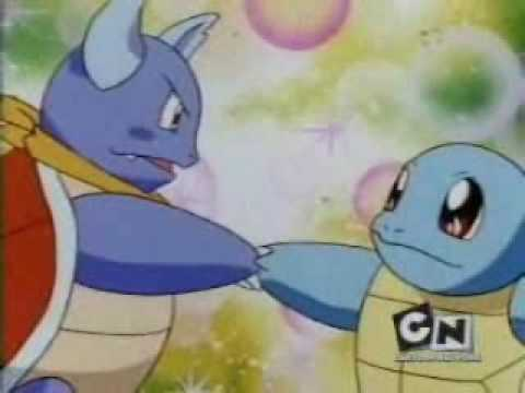 tribute to squirtle wartortle blastoise - YouTube