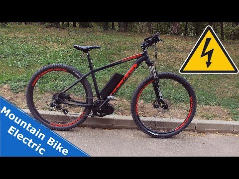 Un mountain bike perfect - electric si ieftin.