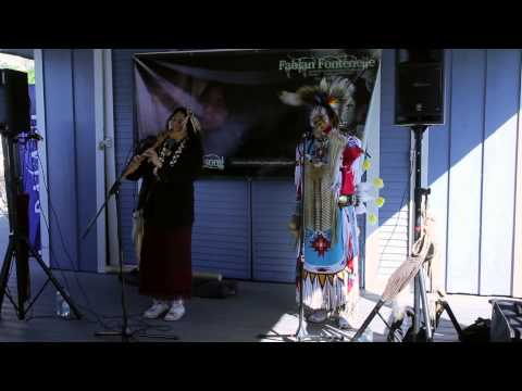 Native American Recording Artist Shelley Morningsong Performs At Shoreline Village video