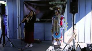 Native American Recording Artist Shelley Morningsong Performs at Shoreline Village