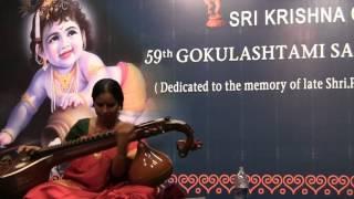Dr. Jayanthi Kumaresh Veena Raga aalap - Reethigowlai - Amrithavarshini
