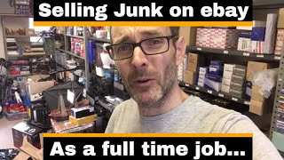 I earn a living selling junk on ebay - Lets see what sold today.