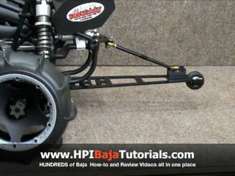 CC Racing Wheelie Bar For the HPI Baja