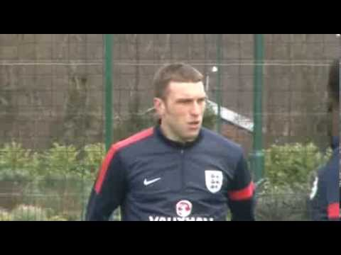 Saints train with England ahead of Denmark friendly