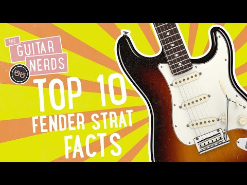 Top Ten Fender Stratocaster Facts You Probably Didn't Know