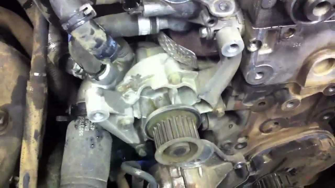 Jeep Liberty Diesel Timing Belt Replacement Part 5 Youtube