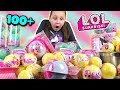 OPENING 100 LOL Surprise Toys In 1 Minute Challenge mp3