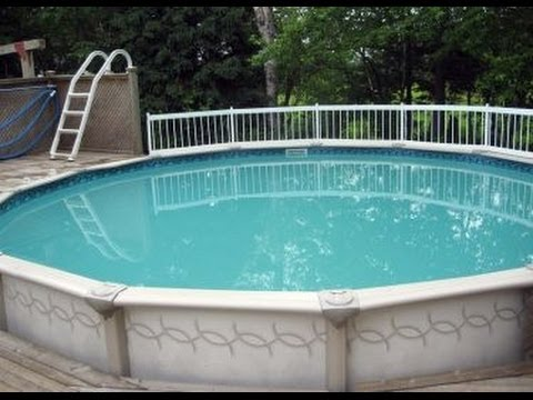 Cloudy Swimming Pool Water After Adding Soda Ash - YouTube