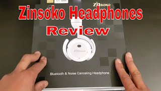 Zinsoko ZH01 Bluetooth Headphones Unboxing And Review