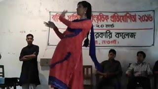 কলেজের অনুষ্ঠান- সাপাহার সরকারী কলেজ, সাপাহার,নওগাঁ। College party dance by Sapahar Gov. College.