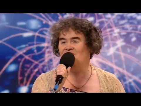 SUSAN BOYLE 1st  [HD] Music Videos