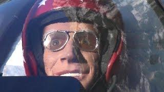 JAMES BOND BD-5 RC TURBINE MODEL JET WITH SMOKE AND SWISS MOUNTAIN PANORAMA