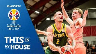 Netherlands v Lithuania - Full Game - FIBA Basketball World Cup 2019 - European Qualifiers