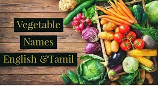 Learn English through Tamil-Vegetable Names