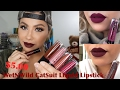 $5.00 NEW WET N WILD Catsuit Matte Liquid Lipstick||Review & Swatches