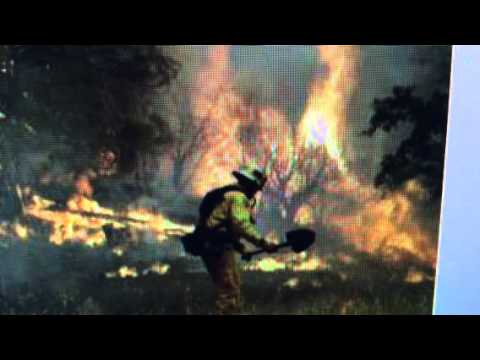 "21 ""Raging Wildfires In California 1 Dead 24,000 Evacuated"""