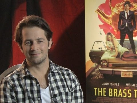 Michael Angarano Talks 'The Brass Teapot'