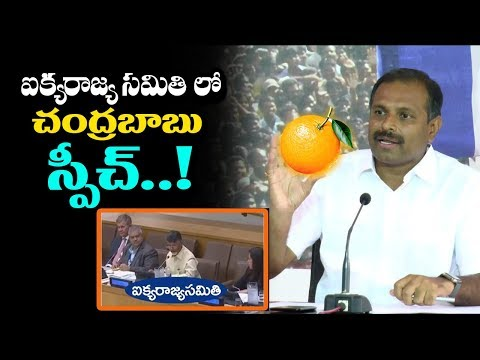 YCP MLA Srikanth Reddy Speaks about CM Chandrababu's English at UN Conference | YSRCP Vs TDP
