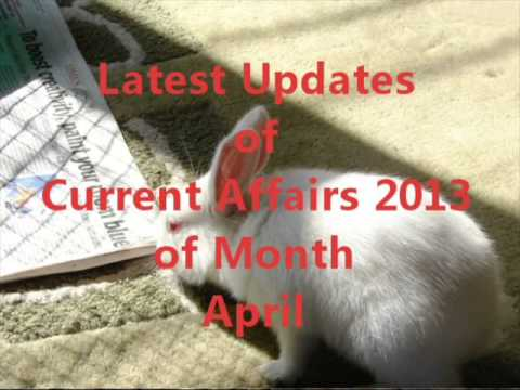 Current Affairs 2013 for SSC and Bank Exam Preparation