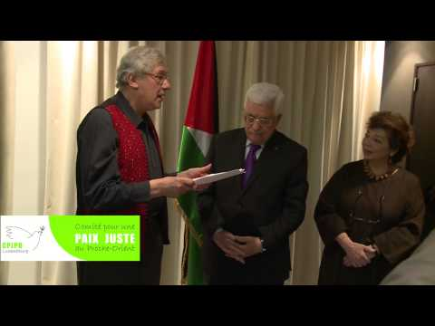 Mahmoud Abbas, Honorary Citizenship ceremony, 14.02.2015, Sofitel