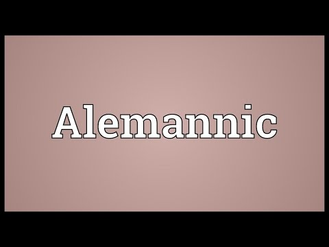 Header of Alemannic