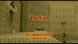 First Time: Ocarina of Time - Ganon (FINALE)