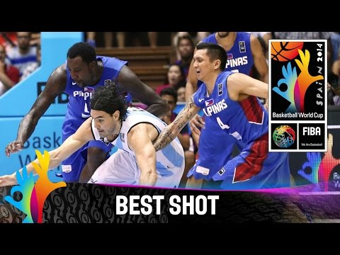 Argentina v Philippines - Best Shot - 2014 FIBA Basketball World Cup