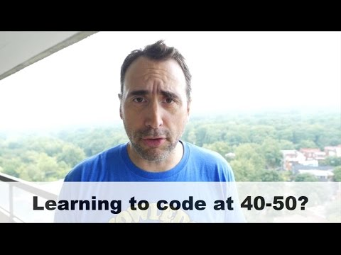 Is 40 yrs too old to learn to code?