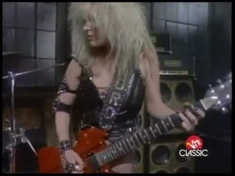 Lita Ford Out For Blood Youtube