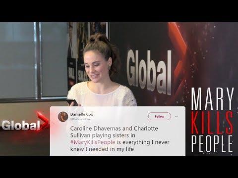 Mary Kills People - Caroline Dhavernas Reads Fan Tweets