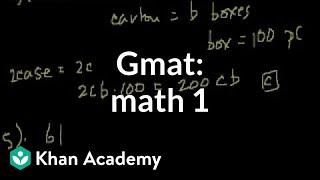 GMAT: Problem Solving