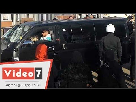 بالفيديو..لحظة خروج جثماين شهداء سيناء...