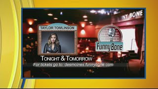 Taylor Tomlinson headlining at the Funny Bone this weekend