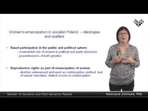 Religion and Politics in Poland: Challenges for Gender Equality, part 2