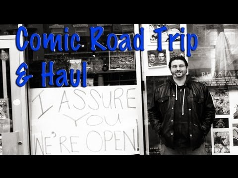 Comic Road Trip / Haul From Secret Stash & Main Street Comics