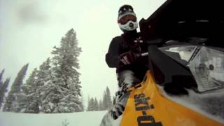 Ski Doo Summit Freeride Powder Plow