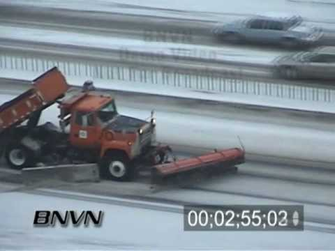 Various Winter Weather Bad Driving Conditions Stock Video Part 2