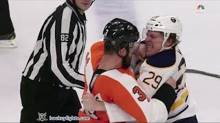 Jake McCabe vs Radko Gudas Feb 11, 2016