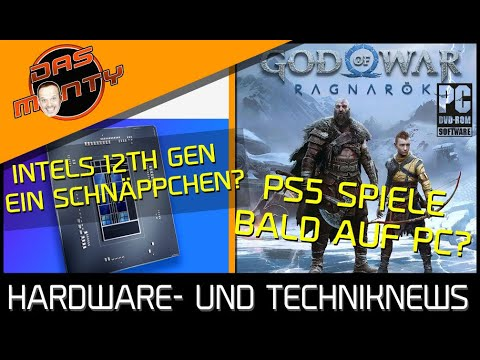 Playstation5-Spiele bald auf dem PC? | Intels 12Th Gen CPUs ein Schnäppchen? | Switch günstiger