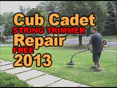 Free Fix Cub Cadet String Trimmer from Paisteboy