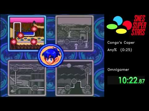 SNES Super Stars [006] Congo's Caper (Any%) by Omnigamer