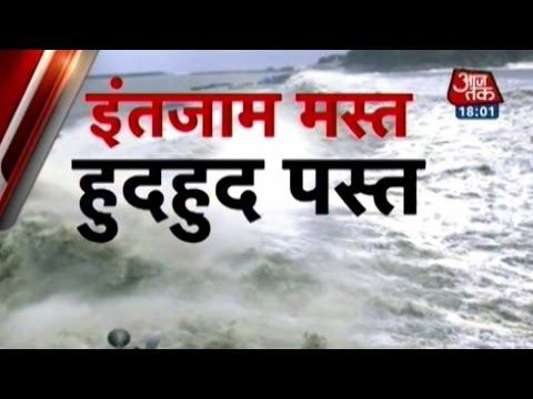 Cyclone Hudhud: Timely disaster management prevented mass destruction