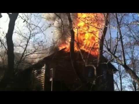 Fire engulfs Dancing Bear Lodge